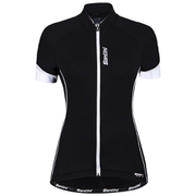 Santini Ora Women's Short Sleeve Jersey - Black