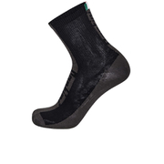 Santini Flag High Profile Coolmax Socks - Black