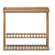 Wireworks Hello Storage Console Table - Oak