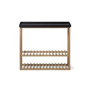 Wireworks Hello Storage Console Table - Black