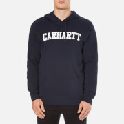 Carhartt Men's Hooded College Sweatshirt - Navy/White