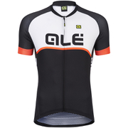 Alé Excel Veloce Jersey - Black/Orange