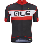 Alé PRR 2.0 Bermuda Jersey - Black/Red
