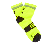 Alé Reflex 10cm Cuff Cycling Socks - Yellow/Black