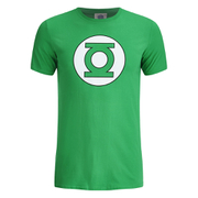 DC Comics Green Lantern Circle Logo Heren T-Shirt - Groen