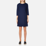 A.P.C. Women's Babba Round Neck Dress - Navy