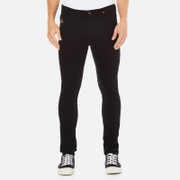 Vivienne Westwood Anglomania Men's Drainpipe Jeans - Black Denim