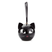 Lulu Guinness Women's Kooky Cat Perspex Orb Clutch - Black
