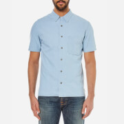 Nudie Jeans Men's Brandon Short Sleeve Shirt - Denim