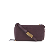 WANT LES ESSENTIELS Women's Demiranda Shoulder Bag - Bordeaux/Gilded Plum