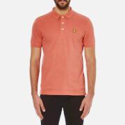 Lyle & Scott Vintage Men's Polo Shirt - Terracotta Marl