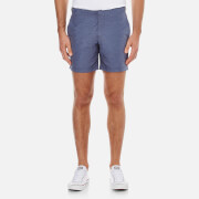 Orlebar Brown Bulldog Chambray Swim Shorts - Navy
