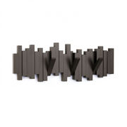 Umbra Sticks Multi Wall Coat Hooks - Espresso