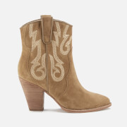 Ash Women's Joe Suede Heeled Boots - Wilde