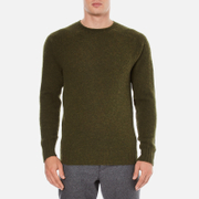 YMC Men's Suedehead Brushed Jumper - Loden