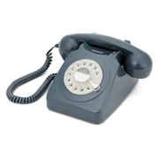 GPO Retro 746 Rotary Dial Telephone - Grey