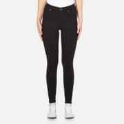 Cheap Monday Women's High Spray Jeans - Black