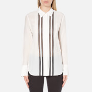 Theory Women's Mosaic Alwinth Shirt - Ivory