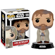 Figurine Luke Barbu Star Wars: Le Réveil de la Force Funko Pop!