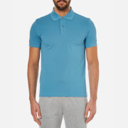 BOSS Green Men's C-Firenze Small Logo Polo Shirt - Blue