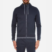 BOSS Green Men's Saggy Zipped Hoody - Blue