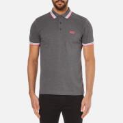BOSS Green Men's Paddy Short Sleeve Polo Shirt - Grey