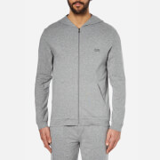 BOSS Hugo Boss Men's Hooded Zipped Sweatshirt - Grey