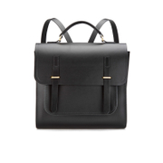 The Cambridge Satchel Company Men's Bridge Closure Backpack - Black