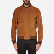 A.P.C. Men's A.P.C. X Louis Wong The Ferris Bomber Jacket - Caramel