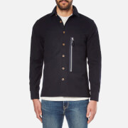 A Kind of Guise Men's Maschad Shirt Jacket - Dark Navy