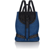 meli melo Women's Mini Backpack - Blue Wash Denim