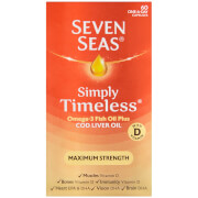 Seven Seas Cod Liver Oil Extra High Strength - 60 Capsules