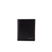 Paul Smith Accessories Men's Slim Billfold Multi Stripe Wallet - Black
