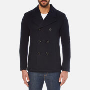 BOSS Orange Men's Bennox Peacoat - Dark Blue