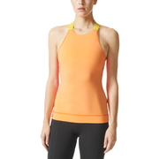 adidas Women's Stellasport Gym Tank Top - Orange/Pink