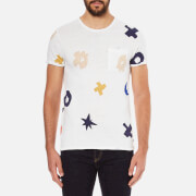 Scotch & Soda Men's Allover Print T-Shirt - White