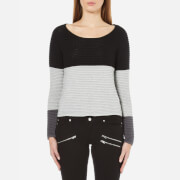 ONLY Women's Oakey Long Sleeve Jumper - Black