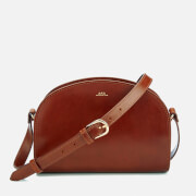 A.P.C. Women's Demi-Lune Cross Body Bag - Noisette