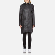 Ilse Jacobsen Women's Light True Rain A Line Coat - Black