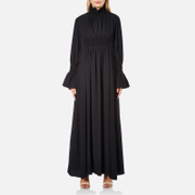 KENZO Women's Crepe Back Satin Maxi Dress - Black
