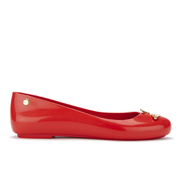 Vivienne Westwood for Melissa Women's Space Love 16 Ballet Flats - Red Orb