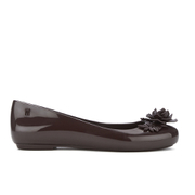 Alexandre Herchcovitch for Melissa Women's Space Love Flower Ballet Flats - Plum