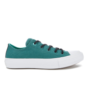 Converse Women's Chuck Taylor All Star II Shield Canvas Ox Trainers - Cool Jade/White/Aegean Aqua