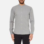 Oliver Spencer Men's Grandad Shirt - Grey