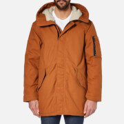 Converse Men's Quilted Fishtail Parka - Antique Sepia