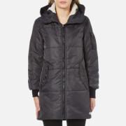 Converse Women's Nylon Long Puffer Coat - Storm Wind