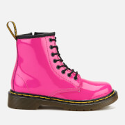 Dr. Martens Kids' 1460 J Patent Lamper Lace Up Boots - Hot Pink