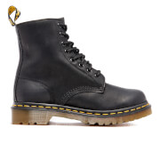 Dr. Martens Women's Serena Fur Lined Leather 8-Eye Boots - Black