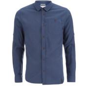 Craghoppers Men's Flint Long Sleeve Shirt - Vintage Indigo