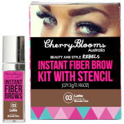 Cherry Blooms Fiber Brow Kit - Latte